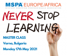 MSPA Master Class Monday - 21 September 2020
