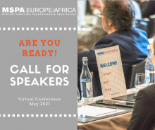 CALL for Workshop SPEAKERS - 21st MSPA EU/Africa Conference - 19-21 May 2020